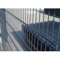 China Galvanized / PVC Coated Steel Wire Fencing , Double Wire Mesh Fence For Garden wholesale