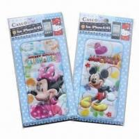 China 3-D Puffy and Foam Stickers for iPhone, Mickey and Minnie, Customized Designs are Accepted wholesale