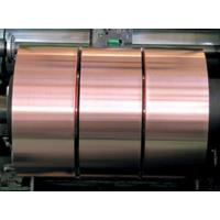 China 0.05mm Thickness Copper Foil Strips , Mill Finish Battery Copper Foil Laminate wholesale