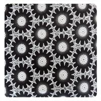 China Fashion Different Color Big  Floral Cotton Polyester Lace Fabric , Burn Out Lace Fabric wholesale