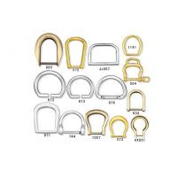 China Leather Bag Buckles Spring Ring / Rivets silk-screened printing wholesale