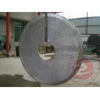 China Cylinder Cap Carbon Steel Forgings Rough Machining , 20MnMoNb Alloy Steel Tube Sheet Plate wholesale