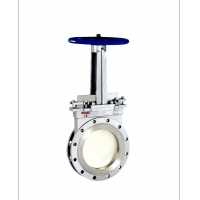 China OEM Material Conveying 2'' 0.35MPa Slide Gate Valve wholesale