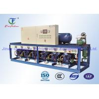 Quality Bock Low Temperature Cold Room Compressor Unit , Compressor Rack Unit for sale
