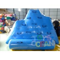 China Mini Inflatable Floating Iceberg Climbing Wall Portable  For Adults wholesale