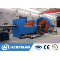 China Reinforced Thermoplastic Pipe Manufacturing Machine For Steel Tape Inter Locking wholesale