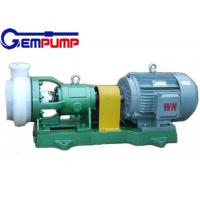China FSB horizontal fluorine plastic sulfuric acid pump / hydrochloric acid pump on sale