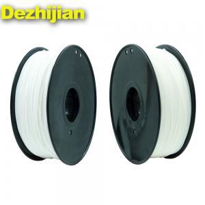 China 1.0 Kg / Roll Transparent PLA Filament 1.75mm 3mm 3d filament Material For 3d Printing wholesale