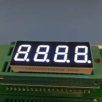China 0.4 Inch Common Anode 7 Segment Display , 4 Digit 7 Segment Numeric Display wholesale