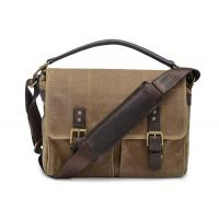 Buy cheap Waterproof Canvas Messenger Bag , Canvas Briefcase Messenger Bag 12.2