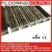 China Aluminum Recessed Entrance Mat reduce dirt decorate entrance both indoor and outdoor wholesale