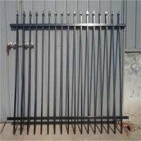 China Australia Security Commerical Garrison Fence Panel galvanised steel security steel fencing wholesale