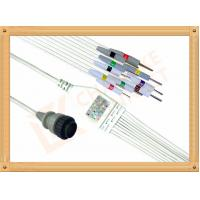 Wholesale Kenz PC 104 Ecg Monitor Cable One Piece Ecg Cable 10 Leadwires Needle IEC from china suppliers