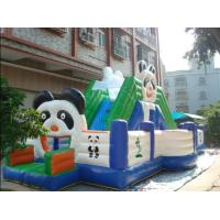 China Inflatable fun city / inflatable playground  / panda jumping playground fun city wholesale