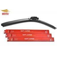 Quality TPE spoiler Car Window Wiper Blades Cleaning Rain Aftermarket Boneless Wiper Blade for sale