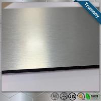 China Custom Color Stainless Steel Composite Panel Brushed Fireproof A2 Core wholesale