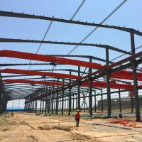 Buy cheap Low Cost Prefab Steel Structure Industrial Workshop Design from wholesalers