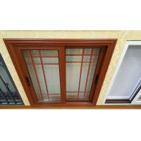 China Double Panels Aluminium Glass Window Villa Interior Bedroom Air Insulation wholesale