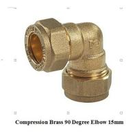 China compression fitting elbow 15mm for copper pipe wholesale