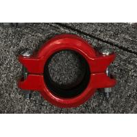 China High Pressure Hose Clamps Spheroidal Graphite Cast Iron Red or Blue plating Surface finish wholesale