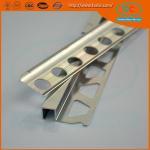 6000 series Glossy Aluminum section, aluminum tile trim