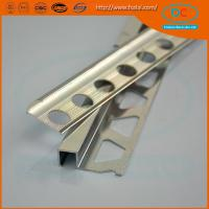 China 6000 series Glossy Aluminum section, aluminum tile trim wholesale