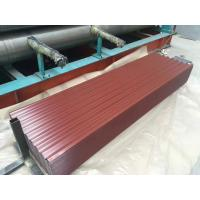 China Factory Price GI/GL Zinc Plated Corrugated Steel Coil Sheets With Color on sale