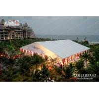 China Fire Retardant Tents For Outdoor Events Marquees With Colourful Lining wholesale