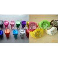 China Colorful sports silicone watch wholesale