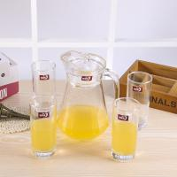 China Longwei Family Water Jug And Glass Set , Glass Juice Jug With Lid 1300 ML wholesale
