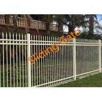 China Decorative Courtyard Automatic Driveway Gates , Electric Metal Gates Heat Treated wholesale
