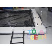 Quality Square Inflatable Water Toys Inflatable Swimming Pool With Net 0.90mm PVC Tarpaulin for sale