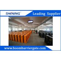 China 3.7M Intelligent Advertising Barriers / Residential Automatic Gates With Loop Detector wholesale