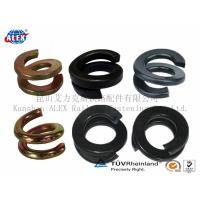 China double spring washer, tension washer, railway parts, railway fasteners on sale