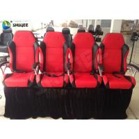 China Professional 4D Cinema Equipment With Simulator Effect And  Seats wholesale