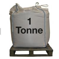 China Top Full Open 1 Ton FIBC Jumbo Bags 100% Virgin PP Founded Flat Bottom With Spout wholesale