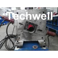 China Round Downspout Machine with Hydraulic Cutting / Downspout Roll Forming Machine wholesale