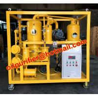 Buy cheap Vacuum Dehydrator Transformer Oil Refinery Recycling Machine,purifier oil from wholesalers
