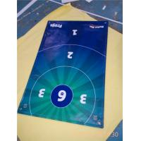 China Printing Advertising Flag Banners With Grommets , PVC Vinyl Banners UV Coated wholesale