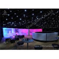 Pretty Lighting Onaments Luxury Wedding Tents with Anodized Aluminum Frame for sale