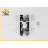 China Hidden Bookcase Door Hinge , Zinc Alloy 3D Adjustable Hinge 160mm on sale