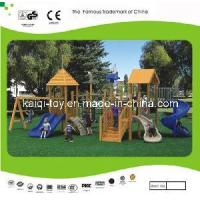 China Wooden Series Outdoor Playground Equipment (KQ10154A) wholesale