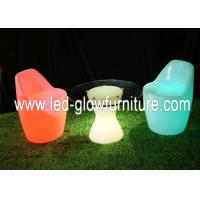 China Saving Battery operated Waterproof glowing bar LED Chair / stools for garden , party wholesale