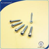 Buy cheap Customized Zinc Plated Steel High Tensile Screws OEM / ODM Acceptable from wholesalers