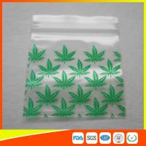 China Reclosable Custom Printed Ziplock Bags / Plastic Packing Bag With Zipper wholesale