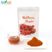 China Healthy Orange Raw Freeze Dried Fruit Powder , Goji Juice Powder By Polysaccharides wholesale