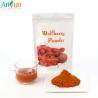 Buy cheap Healthy Orange Raw Freeze Dried Fruit Powder , Goji Juice Powder By Polysacchari from wholesalers