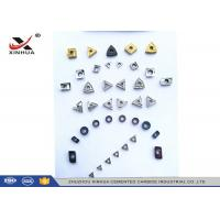 China Cermet Indexable Carbide Inserts Full Range For Finishing Machining Steel Material wholesale