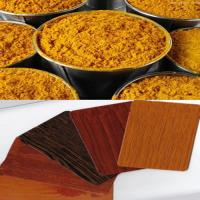 China Thermal Transfer Color Powder Coatings With Wood Sand Texture wholesale