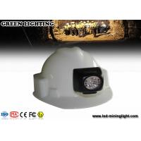 China Explosion Proof 3500-4500 Lux Led Miners Lamp , Cordless Cap Lamp 300ma Li - Ion Battery wholesale